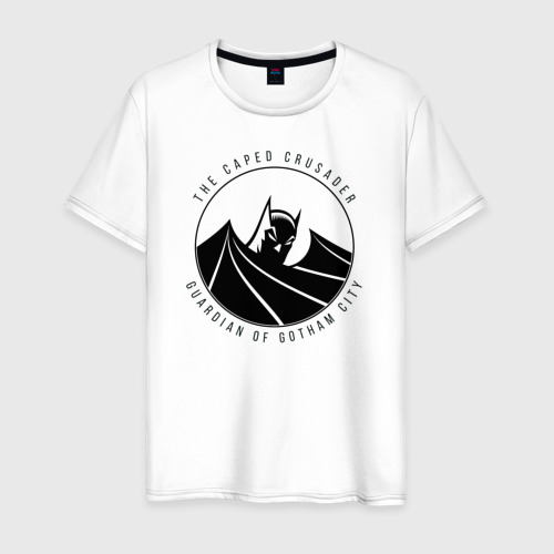 Мужская футболка хлопок Gotham city Фото 01