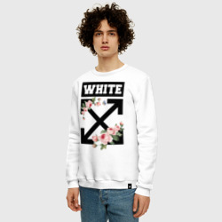 TrdOWPRINT, OFF-WHITE ROSES, O