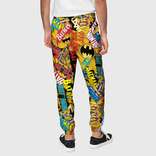 Мужские брюки 3D Batman logos Фото 01