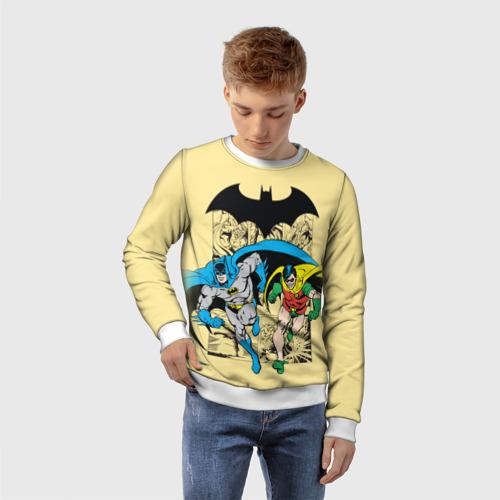 Детский свитшот 3D Batman and Robin Фото 01