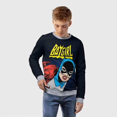 Детский свитшот 3D Batgirl Фото 01