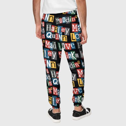 Мужские брюки 3D Mad Love Фото 01