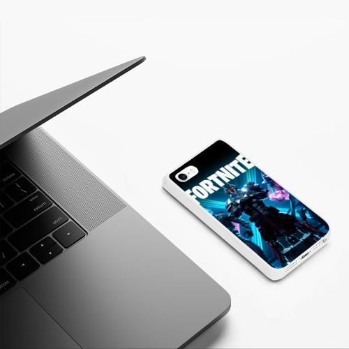 Чехол для iPhone 5/5S матовый FORTNITE Фото 01