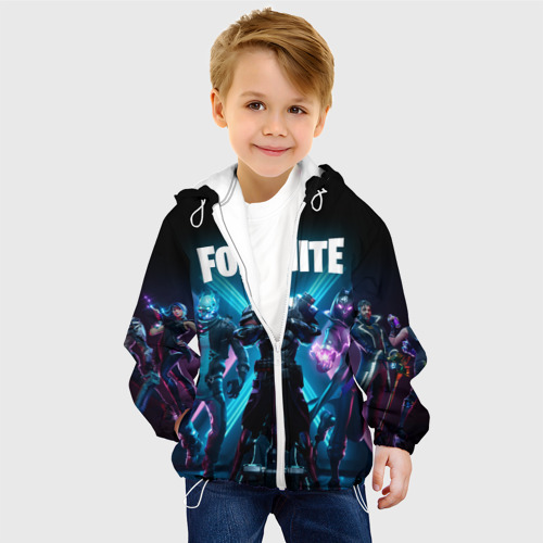 Детская куртка 3D FORTNITE Фото 01