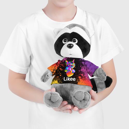 Енотик в футболке 3D Likee (LIKE Video) Фото 01