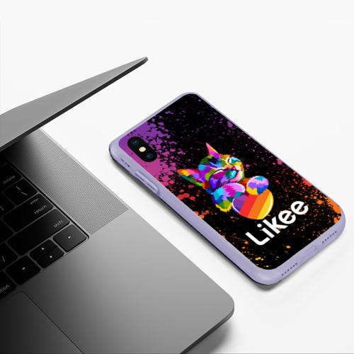 Чехол для iPhone XS Max матовый Likee (LIKE Video) Фото 01