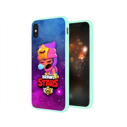Чехол для iPhone X глянцевый SANDY SPACE (Brawl Stars) Фото 01