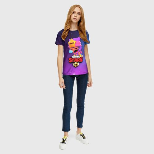 Женская футболка 3D SANDY SPACE (Brawl Stars) Фото 01