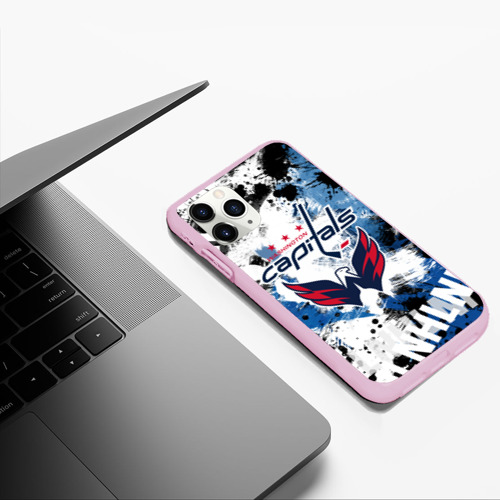 Чехол для iPhone 11 Pro Max матовый Вашингтон Кэпиталз Фото 01