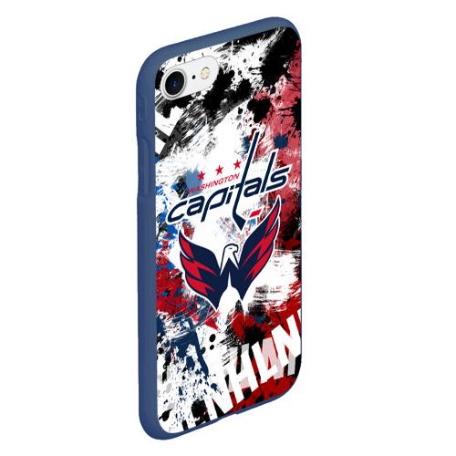 Чехол для iPhone 7/8 матовый Вашингтон Кэпиталз Фото 01