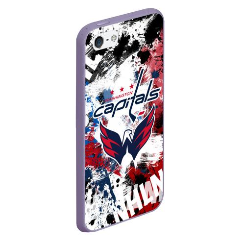 Чехол для iPhone 5/5S матовый Вашингтон Кэпиталз Фото 01