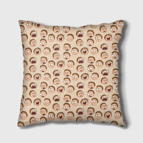 Подушка 3D Эмоции Морти Фото 01