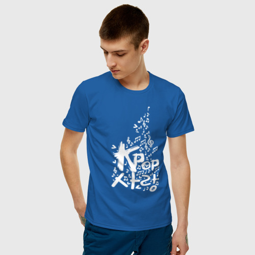 Мужская футболка хлопок Kpop Фото 01