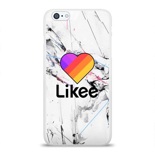 Чехол для iPhone 6/6S Plus глянцевый LIKEE Фото 01