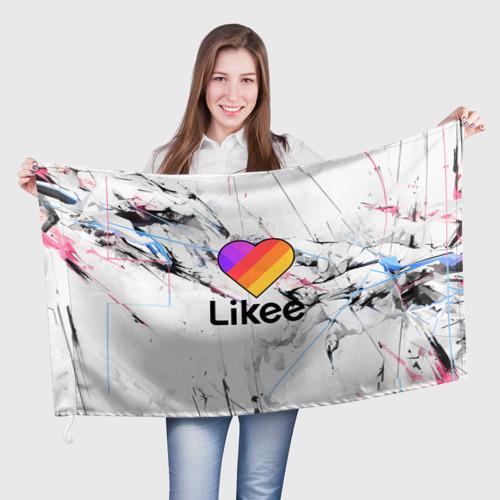 Флаг 3D LIKEE Фото 01