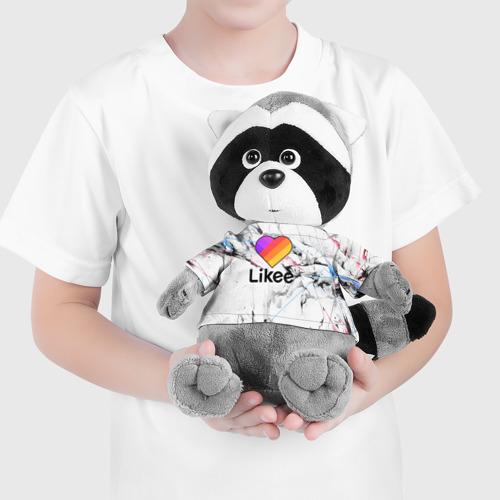 Енотик в футболке 3D LIKEE Фото 01