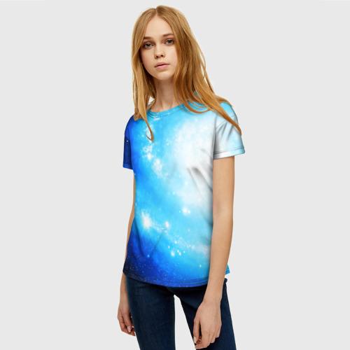 Женская футболка 3D ЗВЕЗДНОЕ НЕБО Фото 01