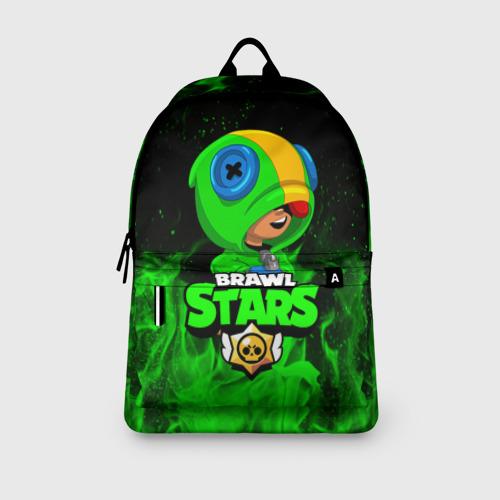 Рюкзак 3D BRAWL STARS LEON | ЛЕОН Фото 01