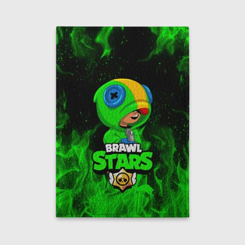 Обложка для автодокументов BRAWL STARS LEON Фото 01