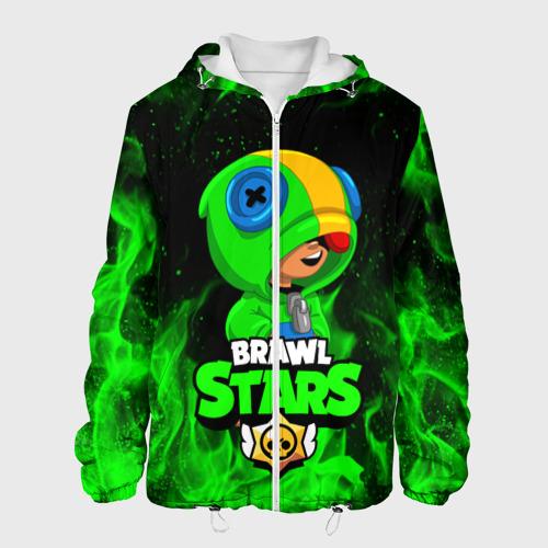 Мужская куртка 3D BRAWL STARS LEON | ЛЕОН Фото 01