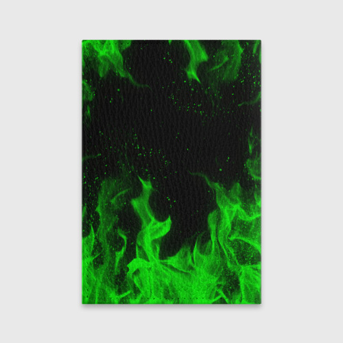 Обложка для паспорта матовая кожа BRAWL STARS LEON Фото 01