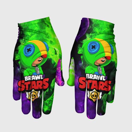 Перчатки 3D BRAWL STARS LEON Фото 01