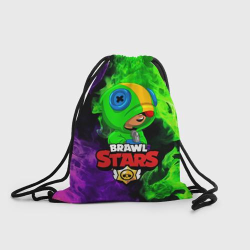 Рюкзак-мешок 3D BRAWL STARS LEON Фото 01