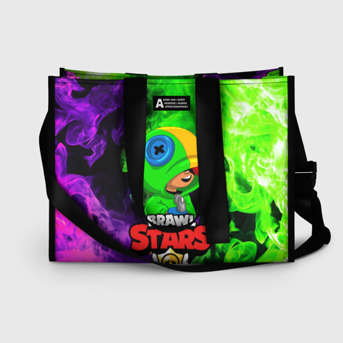 Сумка-шоппер 3D BRAWL STARS LEON Фото 01
