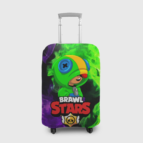 Чехол для чемодана 3D BRAWL STARS LEON Фото 01