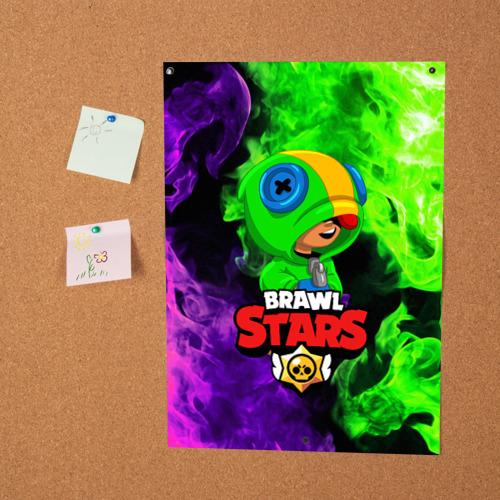 Постер BRAWL STARS LEON Фото 01
