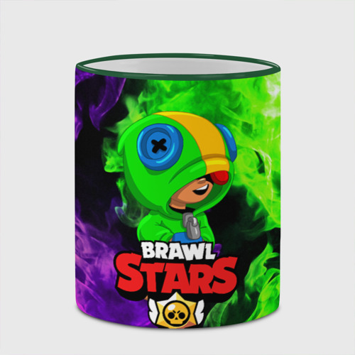 Кружка с полной запечаткой BRAWL STARS LEON Фото 01