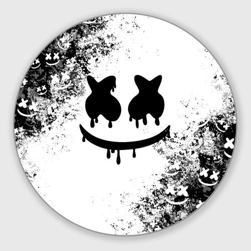 Коврик для мышки круглый Marshmello Фото 01