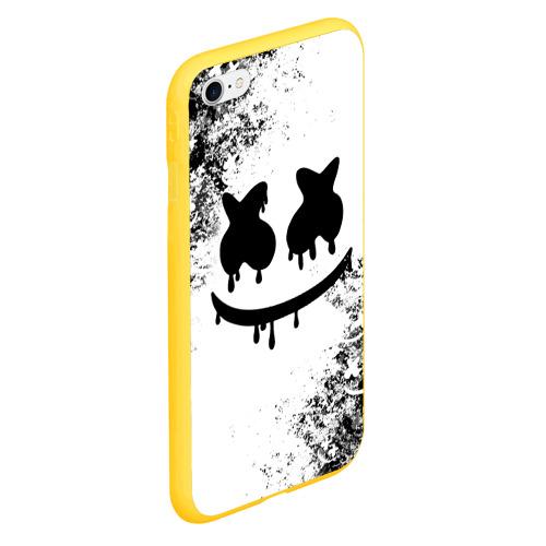 Чехол для iPhone 6Plus/6S Plus матовый Marshmello Фото 01