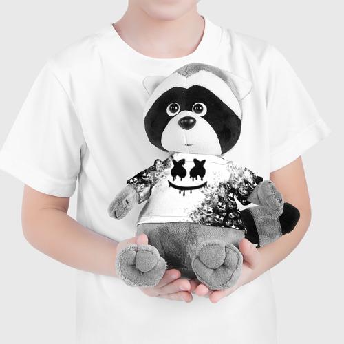 Енотик в футболке 3D Marshmello Фото 01