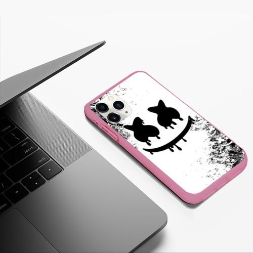 Чехол для iPhone 11 Pro Max матовый Marshmello Фото 01