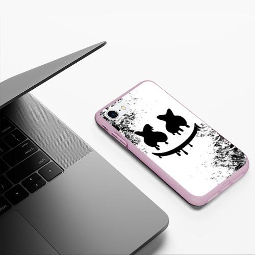Чехол для iPhone 7/8 матовый Marshmello Фото 01