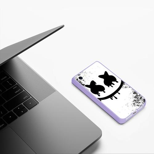 Чехол для iPhone 5/5S матовый Marshmello Фото 01