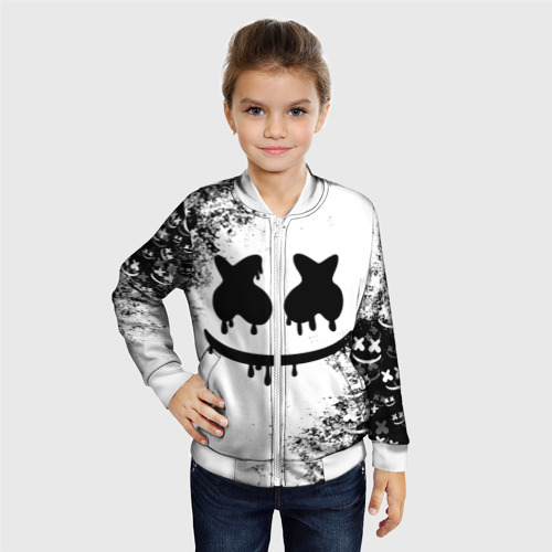 Детский бомбер 3D Marshmello Фото 01