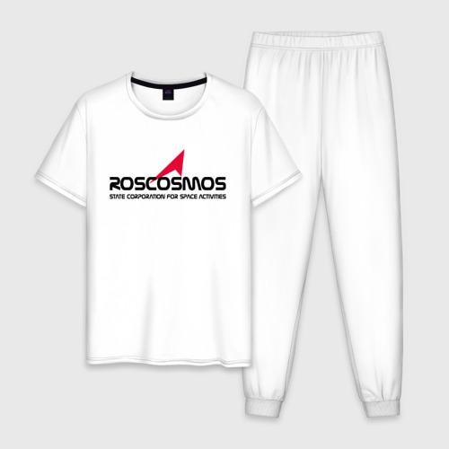 Мужская пижама хлопок ROSCOSMOS Фото 01