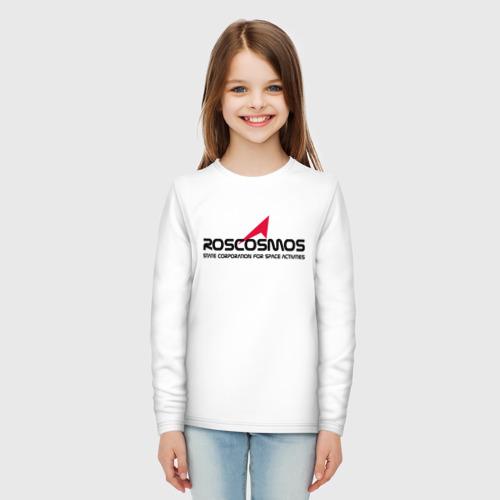 Детский лонгслив хлопок ROSCOSMOS Фото 01