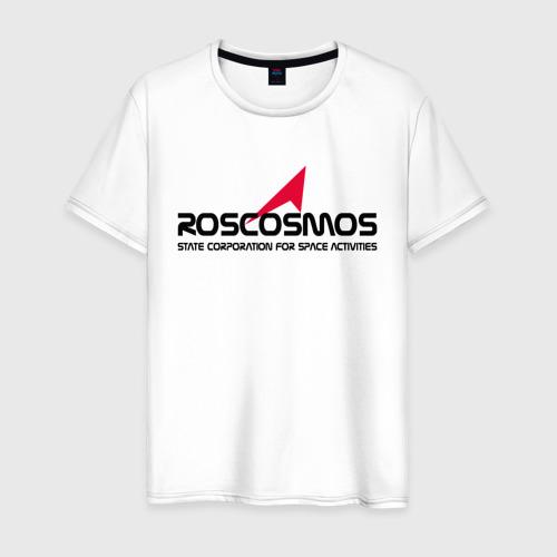 Мужская футболка хлопок ROSCOSMOS Фото 01