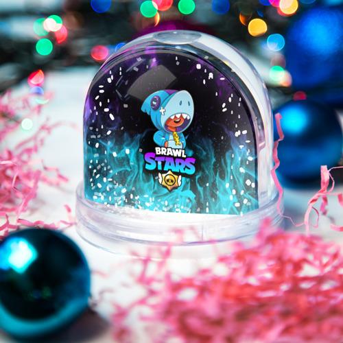 Снежный шар BRAWL STARS LEON SHARK Фото 01