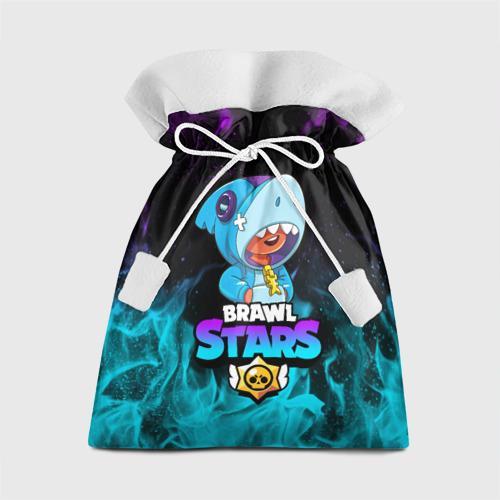 Подарочный 3D мешок BRAWL STARS LEON SHARK Фото 01