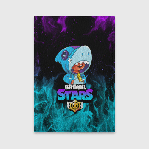 Обложка для автодокументов BRAWL STARS LEON SHARK Фото 01