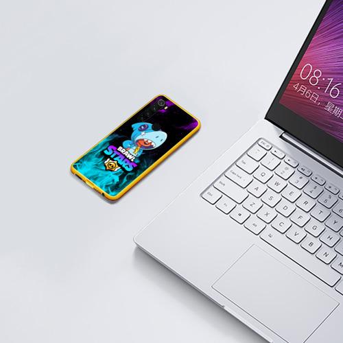 Чехол для Xiaomi Redmi Note 8 BRAWL STARS LEON SHARK Фото 01