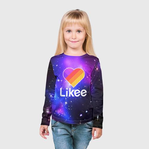 Детский лонгслив 3D LIKEE COSMO Фото 01