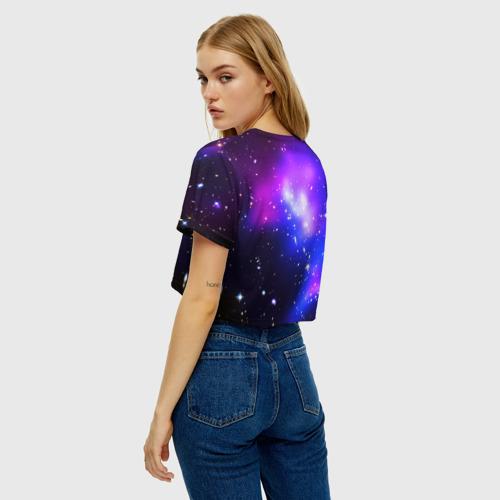 Женская футболка Crop-top 3D LIKEE COSMO Фото 01