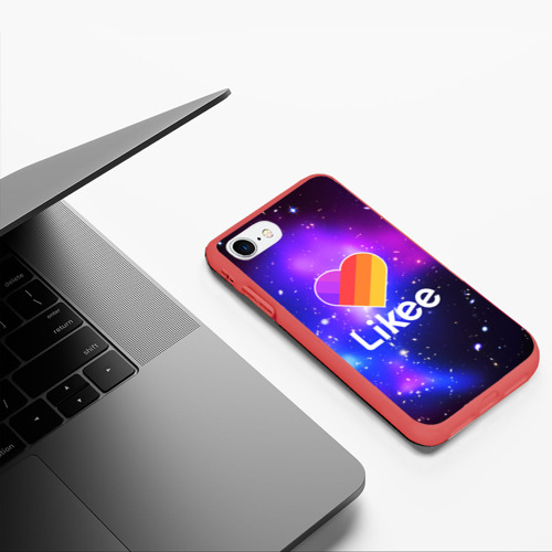 Чехол для iPhone 7/8 матовый LIKEE COSMO Фото 01