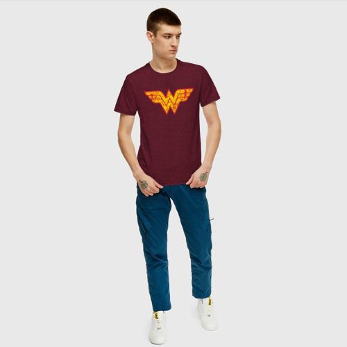 Мужская футболка хлопок Wonder woman Фото 01