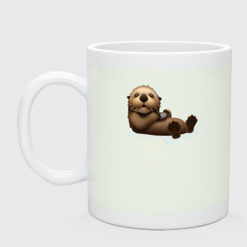 Кружка Otter emoji One фото